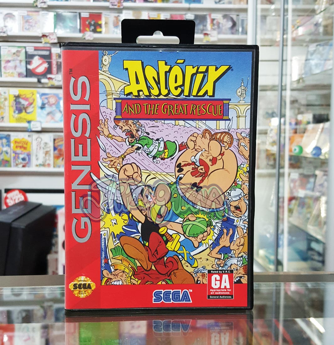 Asterix and the Great Rescue (USA) ROM Download < Game ...